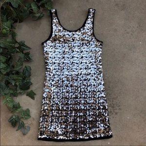 Romeo & Juliet Couture Sequin Mini Dress